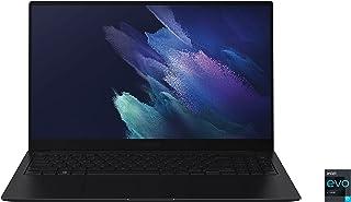 كمبيوتر محمول سامسونج جالاكسي بوك برو، شاشة 15.6 بوصة اموليد تعمل باللمس، الجيل 11 i7، ذاكرة 16 جيجابايت، وسيط تخزين ذو حا...