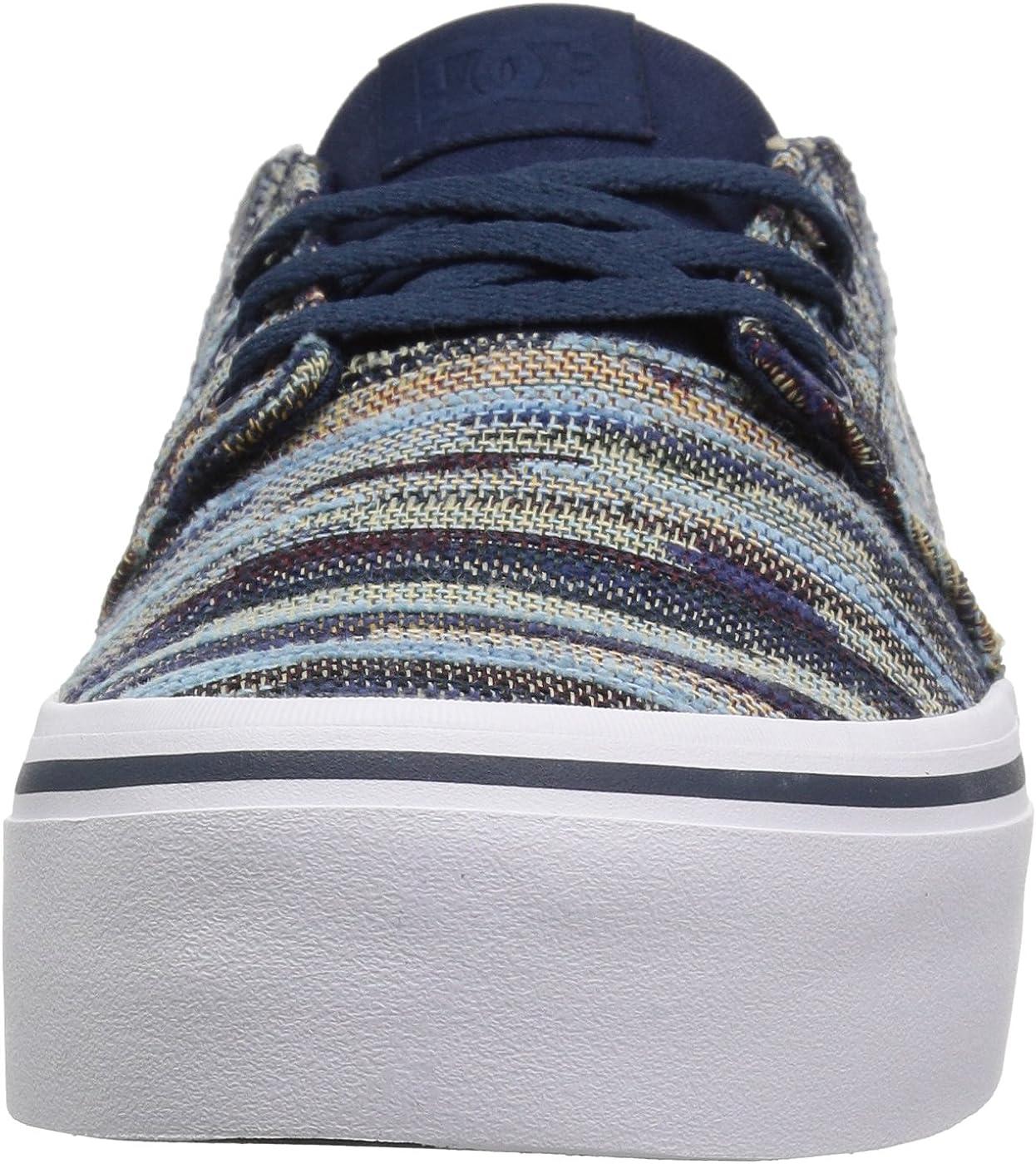 DC Womens Trase Platform Tx Le Skate Shoe