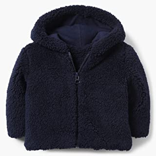 Gymboree Baby Boys Sherpa Hooded Zipper Jacket