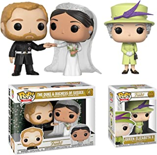 Funko Queen Elizabeth Royals: Royal Wedding Collectors Set
