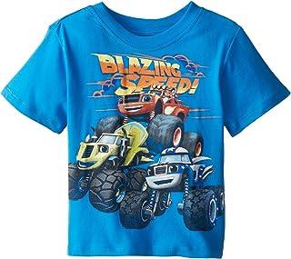 Nickelodeon Blaze and The Monster Machines Boys' Short Sleeve T-Shirt