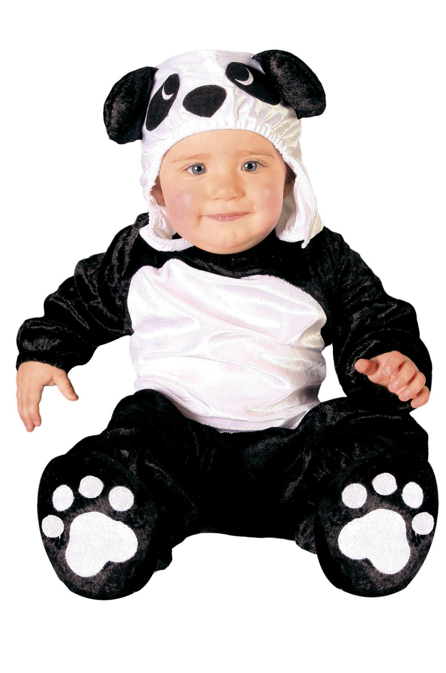 Guirca- Disfraz oso panda baby, Talla 6-12 Meses (82626.0): Amazon ...