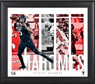 Patrick Mahomes Texas Tech Red Raiders Framed 15