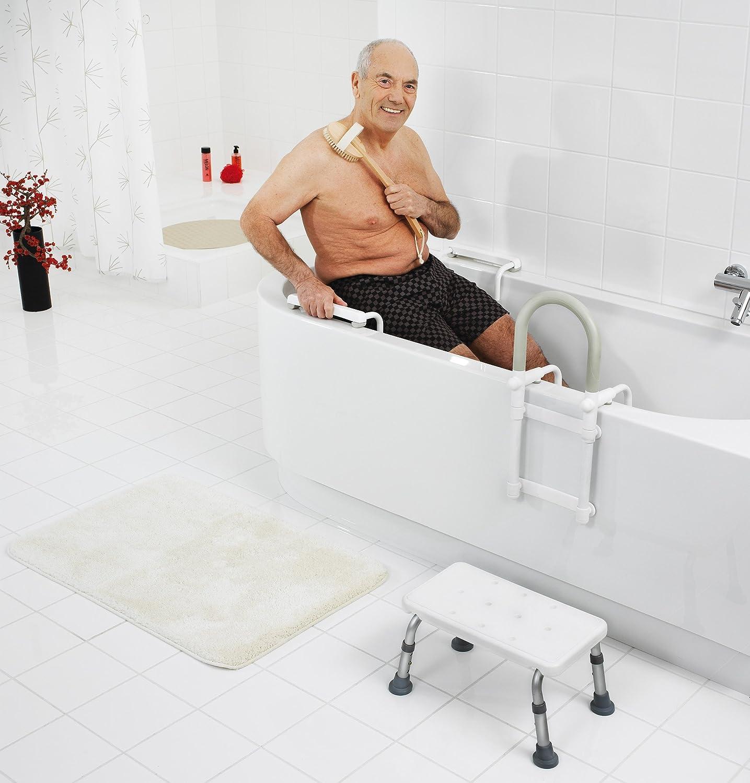 Ridder A00400101 Sedile Per Vasca Da Bagno Colore Bianco Amazon It Casa E Cucina