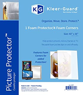 Kleer-Guard Art & Picture Protector TM with four foam corners 40