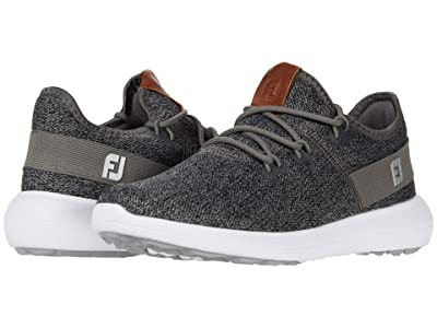 FootJoy Flex Coastal Spikeless (Black/Charcoal/White) Women