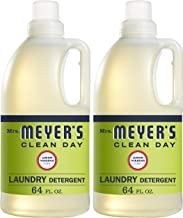Mrs. Meyer's Laundry Detergent, Lemon Verbena, 64 fl oz (2 ct)