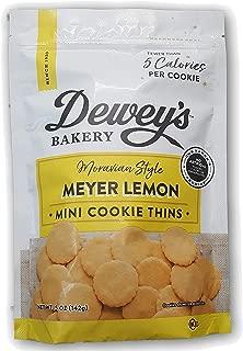 Deweys Morovian Style Meyer Lemon Mini Cookie Thins 5oz