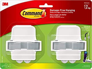 Best Command Broom & Mop Grippers, Multi-Use Gripper, Holds up to 4 lbs, 2-Pack Review