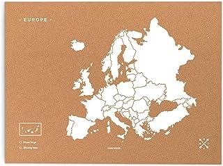 Cartina Mondo In Sughero.Amazon It Cartina Europa Sughero