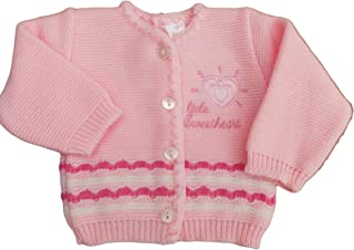 BNWT Tiny baby Prem Premature Preemie Little sweetheart knitted cardigan clothes