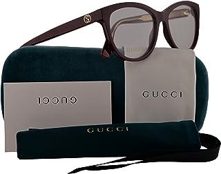 de80749165 Gucci GG0310O Eyeglasses 53-16-140 Burgundy w Demo Clear Lens 003 GG