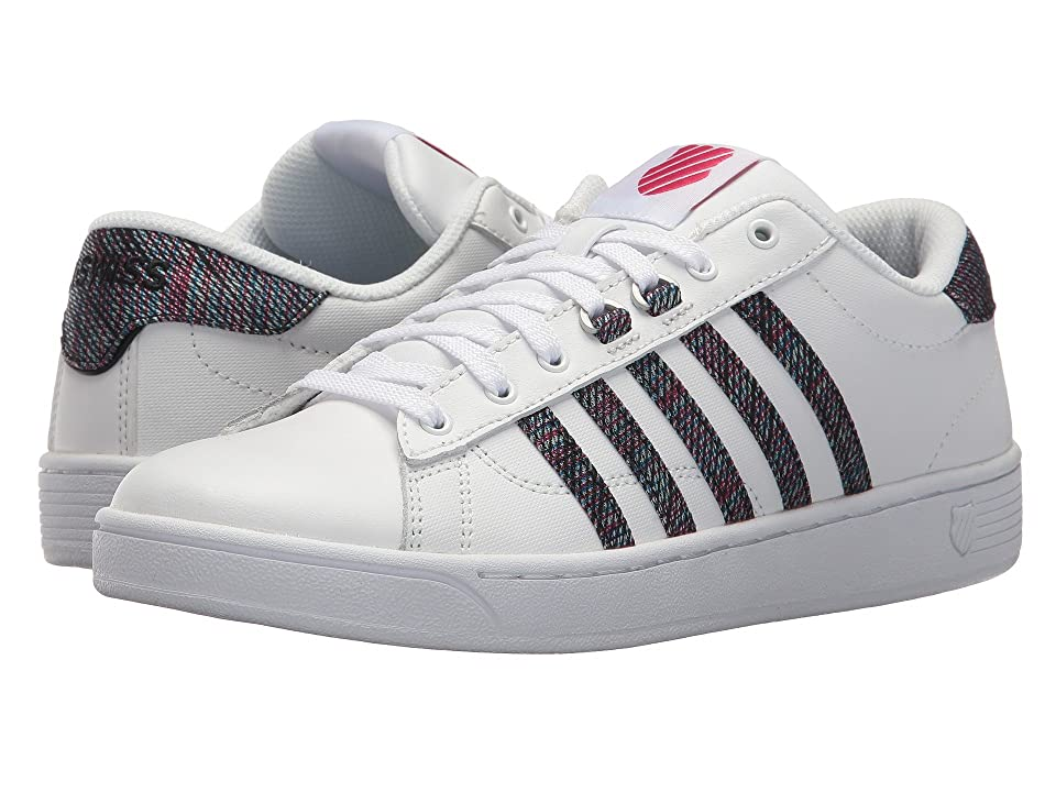 K-Swiss Hoke CMF (White/Multi/Raspberry Wine) Women