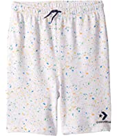 Splatter Print Shorts (Big Kids)