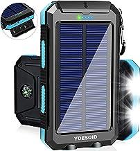 Solar Charger 20000mAh YOESOID Portable Outdoor...