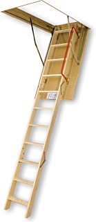 FAKRO LWS-PL 66854 Insulated Attic Ladder for 25-Inch x 54-Inch Rough Openings