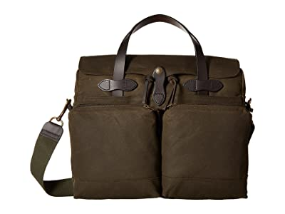 Filson 24 Hour Tin Briefcase (Otter Green) Briefcase Bags