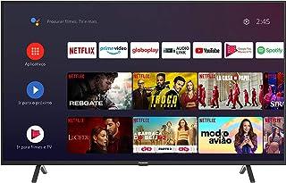 Smart TV Android 50'' LED 4K UHD Panasonic TC-50HX550B 3 HDMI 2 USB Bluetooth