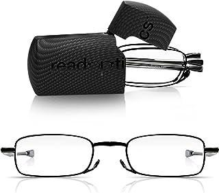 42f6cf5b3c Read Optics Gafas de Lectura Plegables de Bolsillo con Estuche Incluido-  Para Hombres/Mujeres