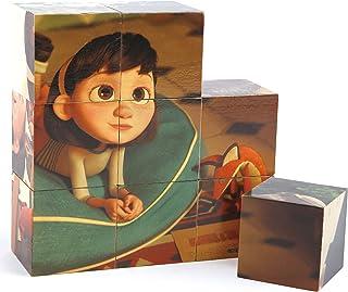 Hape The Little Prince Blocks 9Pcs, Educational Toys, 24M+ - Multicolor