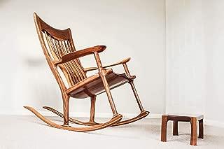Hand Sculpted Rocking Chair