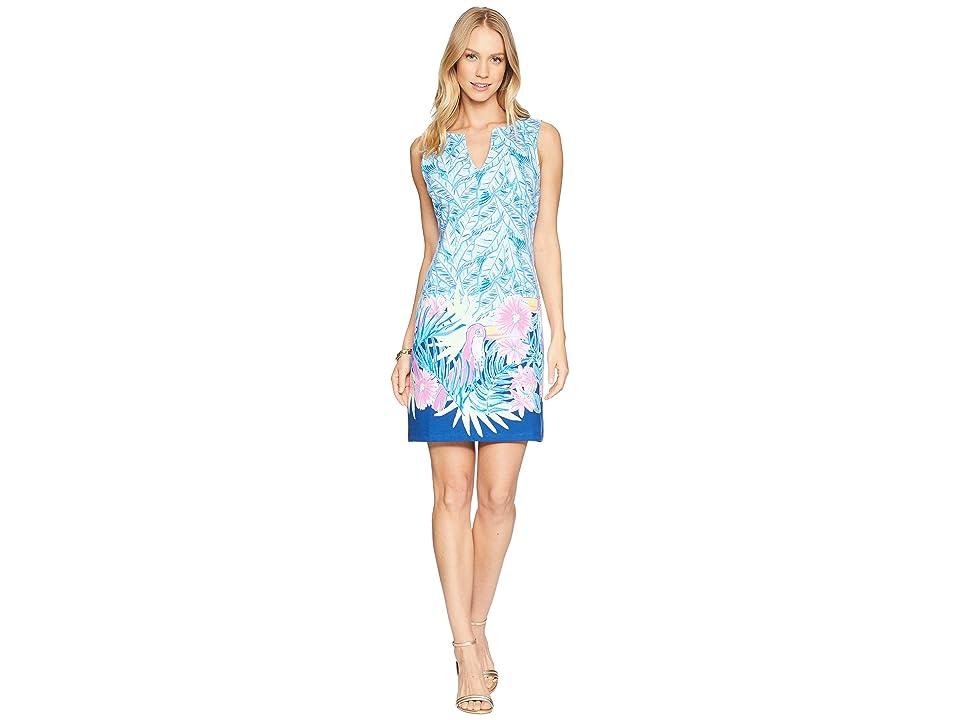 Lilly Pulitzer Harper Shift Dress (Bennet Blue Lets Mango) Women