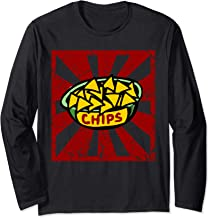 Chips and Salsa matching set Halloween costume for couples Long Sleeve T-Shirt