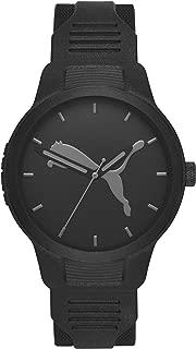 [プーマ] 腕時計 RESET P5004 メンズ 正規輸入品 ブラック