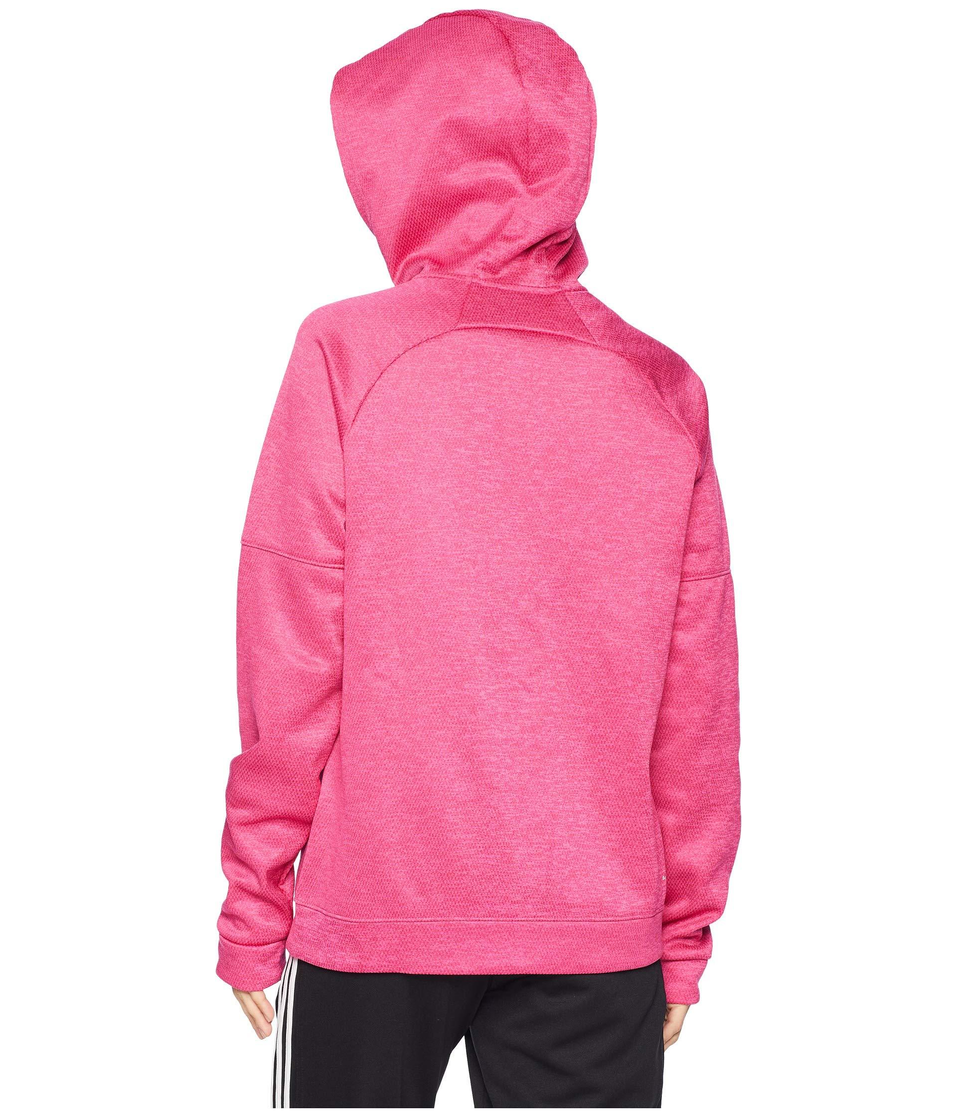 Hoodie Magenta Adidas Issue Real Zip Team Full WwIw4qv