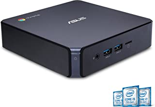 ASUS CHROMEBOX 3-N019U Mini PC with Intel Core i3, 4K UHD Graphics and Power Over Type C Port, Star Gray