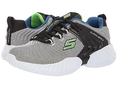 SKECHERS KIDS Lace-Up Sneaker 98331L (Little Kid/Big Kid) (Gray/Black) Boy