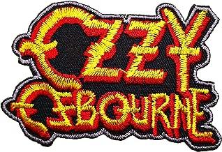 Ozzy Ozzie Osbourne Black Sabbath t Shirt Logo MO03 Patches