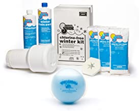 In The Swim Pool Winterizing and Closing Chemical Kit Bundle with Winter Ball Stain Preventer (35,000 gallons)