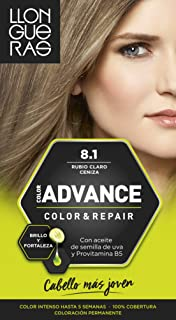 Llongueras Advance Tinte de Cabello Permanente