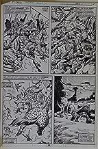 JOHN BUSCEMA / ERNIE CHAN original art, KING CONAN #2 pg 44, 10.5