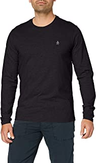 ORIGINAL PENGUIN Men's Pinpoint Long Sleeve T-Shirt