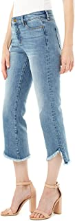 """Liverpool Women's Crop Flare 5-Pocket Vintage Premium 25"""" INS, Hemet"""