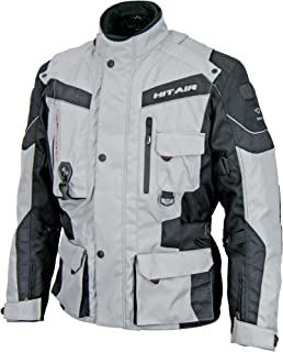 hit-air エアバック付バイク用ジャケット EU-6 グレー 4XLサイズ EU-6