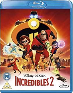 Incredibles 2 [Blu Ray] [Region Free]