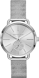 Michael Kors Women's Portia Three-Hand Stainless Steel Watch