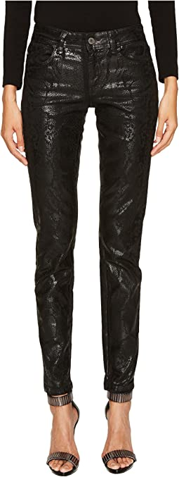 Just Cavalli - Python Laminate Print Five-Pocket