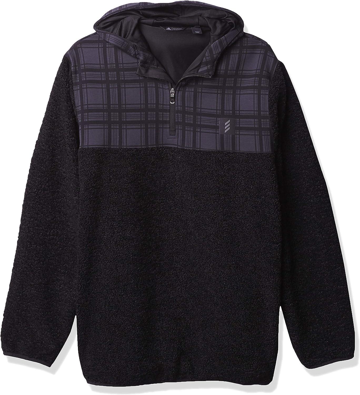 adidas Men's Adicross Sweatshirt Sherpa Sale price Hooded lowest price