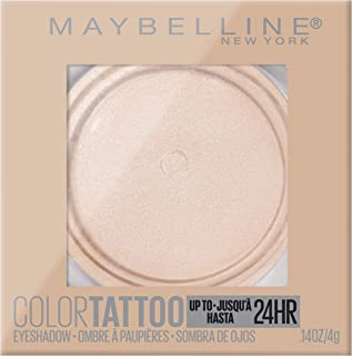 Maybelline New York Color Tattoo 24 Hour Longwear Cream Eyeshadow Makeup, Front Runner, 1 Count