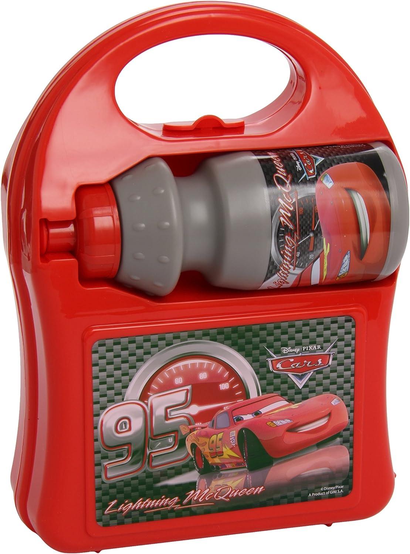 Cars - Fiambrera-maletín con Botella (Kids Euroswan 55299255)