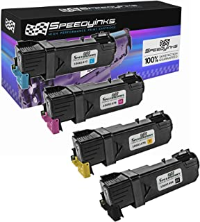 Speedy Inks Compatible Toner Cartridge Replacement for Xerox Phaser 6140 / 6140N (1 Black, 1 Cyan, 1 Magenta, 1 Yellow, 4-Pack)