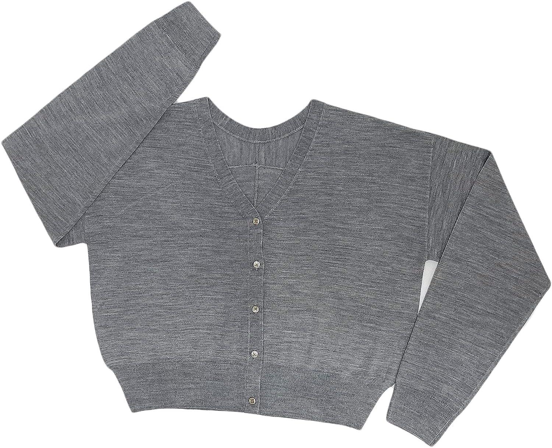 Women's V-Neck favorite Long Sleeveloose Cardigan Solid Factory outlet Jacket Color Casu
