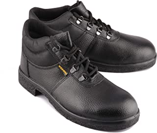 Wild Bull Safety Shoes for Men Black Power Plus