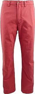 RALPH LAUREN Polo Men's Classic Fit Cotton Chino Pants, Nantucket Red (36x30)