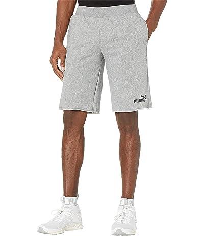 PUMA Essential Shorts 12 (Medium Gray Heather) Men