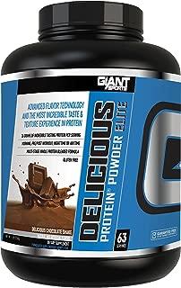 Giant Sports Products Delicious Elite Protein Powder Chocolate Shake, 5 Pound